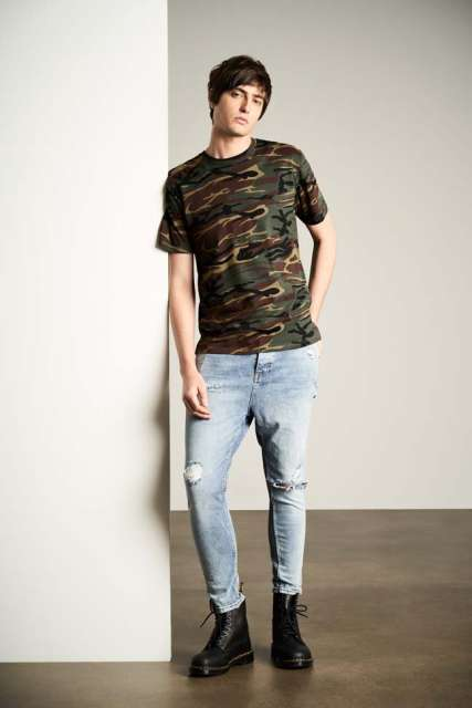 ADULT MIDWEIGHT CAMOUFLAGE TEE