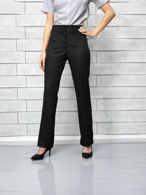 LADIES FLAT FRONT HOSPITALITY TROUSER