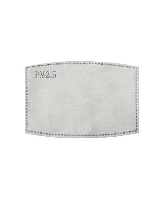 PM2.5 ACTIVATED CARBON MASK FILTER - 1 UNIT->10PCS