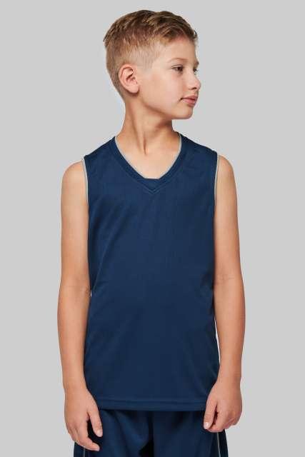 KIDS' BASKETBALL JERSEY