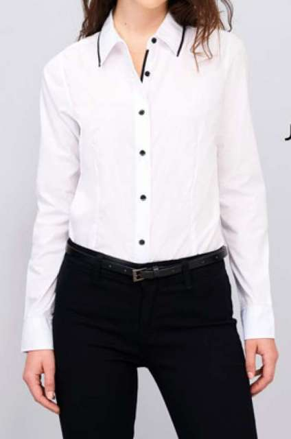 SOL'S BAXTER WOMEN - LONG SLEEVE FITTED SHIRT