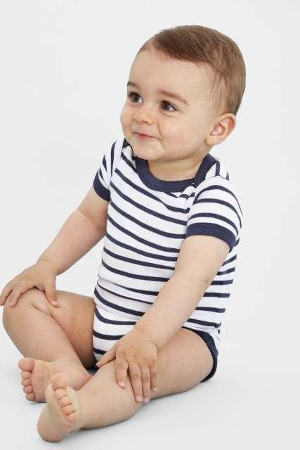 SOL'S MILES BABY - STRIPED BODYSUIT