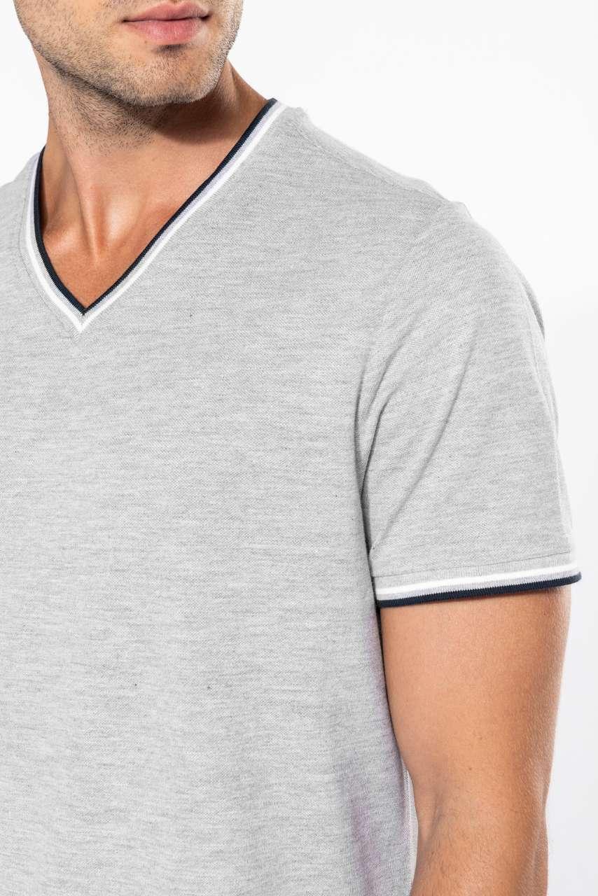 Kariban Piqué Knit Crew Neck T-Shirt